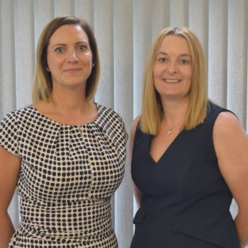 Lesley-Anne Gunn and Leah Lewis Partners at Dee & Griffin Solicitors