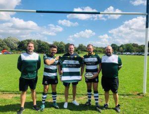Dee & Griffin Sponsor Chosen Hill Fprmer Players RFC